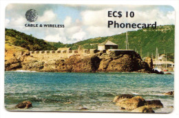 ANTIGUA & BARBUDA REF MV CARDS ANT-C9 Année 1999 FORT BERKELEY - Antigua Et Barbuda