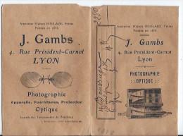 5 Pochettes Photos Anciennes - Photographie