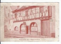 Turckheim ,salon De Coiffure ,posticheur Diplomé - Cartes De Visite