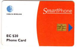 ANTIGUA & BARBUDA REF MV CARDS ANT-C2 Année 1998 SMARTPHONE - Antigua Et Barbuda