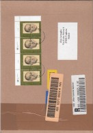 Nazioni Unite Vienna 2007 - Lettera Racc.  X L´Italia Affrancata Con 4 Stamps - Centre International De Vienne