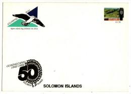 ILES SALOMON   Lot De 6 Lettres Avec Entier Postal - Salomon (Iles 1978-...)