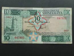 Somalia 10 Shillings 1987 - Somalia