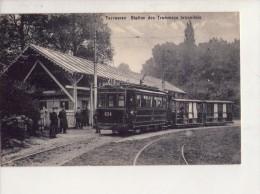 Tervuren Station De Tramways-CP1900-Circulée - Vervoer (openbaar)