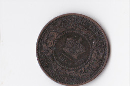 1 CENT - NEW BRUNSWIK - CANADA   Reine VICTORIA - - Assez RARE - Canada
