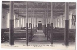 POITIERS - Ecole De Réforme De St HILAIRE. - Le Réfectoire. Carte RARE - Poitiers