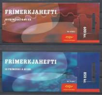 EUROPA-CEPT 2002 - Islande - 2 Carnets Complets Avec 10 V NEUF ** (MNH) - 2002
