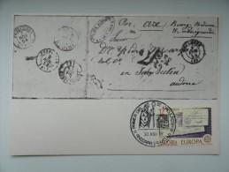 CARTE MAXIMUM CARD EUROPA 1979 LETTRES PREPHILATELIQUES ANDORRE - Other