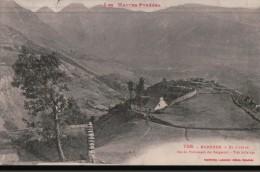 260 BAREGES  1922  ECRITE TIMBRE   VERSO - France