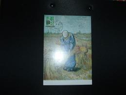 CP PAYSANNE GERBANT LE BLE TP PAYSANNE 0,10 Surcahrgé EA OBL.4-7-1962 ALGER RP ALGER - Poststempel (Briefe)