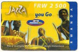 RECHARGE GSM RWANDA FRW 2500