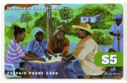 SAINT MARTEEN REF MV CARDS STM-PA5 5$ - Antilles (Netherlands)
