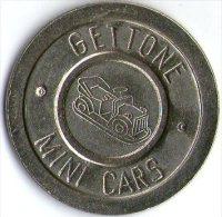 2601 Gettone Mini Cars - Italie