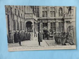 Guerre 1914-16 Bataille De L'yser - FURNES    (écrite,non Oblitérée, Non Timbrée ) - Non Classés