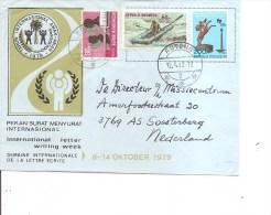 Indonésie ( Lettre De 1982 De Ruteng Vers Les Pays-Bas à Voir) - Indonesien