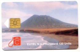 ANTILLES NEERLANDAISES SAINT EUSTACHE REF MV CARDS STAT-C2 Année 1996 Tirage 3000 Ex - Antilles (Netherlands)