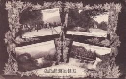 Cpa  Chateauneuf Les Bains Multivues - Non Classés