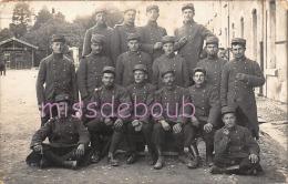46 - CAHORS  - Carte Photo - Groupe, Soldats - 7èmè De Ligne - 26ème Compagnie  - 1er Section Classe 1914 -   2 Scans - Cahors