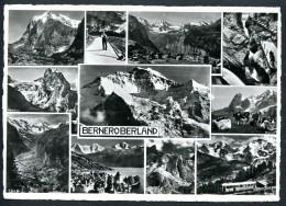 Berner Oberland, Mehrbildkarte (11), B + P - BE Berne