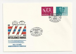 1972 FDC Noorwegen - Norway