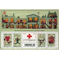 France Feuillet N°4699 Au Profit De La Croix-Rouge. Solidarité - Blokken En Velletjes
