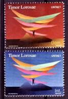 (06) Timor  2000  Symbols  ** / Mnh  Michel 369-70 - Timor