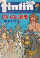 1985-40e Année N°19, BD TINTIN HEBDOMADAIRE ( Ian Kaledine La Fee Peri, Hugo Le Nain De Corneloup ) - Tintin