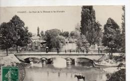 Chagny Le Pont De La Dheune Et Les Abattoirs - Chagny