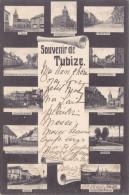Souvenir De Tubize - Multi Vues 1906 - Tubeke