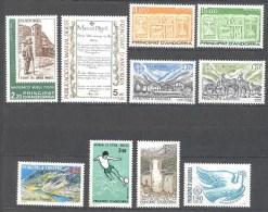 Andorre: Yvertentre  N°345/54**; MNH; Cote + 26.00€; Voir Le Scan; PETIT PRIX A PROFITER!!! - Unused Stamps