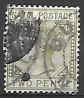 1887 2p Queen Victoria, Used - Zuid-Afrika (...-1961)