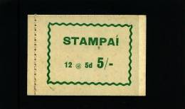 IRELAND/EIRE - 1966  5 S.  BOOKLET CONTAINING 12 X 5d.  MINT NH - Libretti