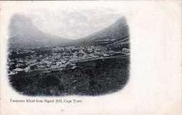 CAPE TOWN (Südafrika) Tamboers Kloof From Signal Hill - Karte Um 1900 - Sud Africa
