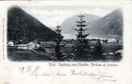 PERTISAU Am Achensee (Tirol) - Gasthaus Zum Pfandler, Gel.1898 - Achenseeorte