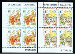 2016 - VATICANO -S10A - SET OF 8 STAMPS ** - Unused Stamps
