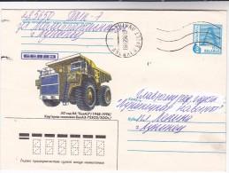 1998 BELARUS POSTAL STATIONERY COVER Illus TRUCK 75303 , Stamps - Belarus
