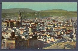 1921 , ANDALUCIA , MÁLAGA , CIRCULADA , VISTA DE LA CIUDAD. - Málaga