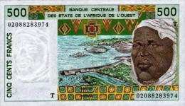 West African States - Afrique De L´ouest Togo 2002 Billet 500 Francs Pick 810 M Neuf 1er Choix UNC - Togo