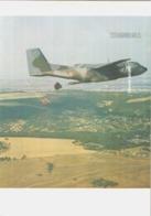 Chromo Avion TRANSALL Format 21 X 29.7cm - Cromos