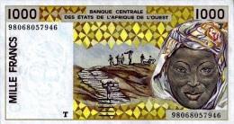 West African States - Afrique De L´ouest Togo 1998 Billet 1000 Francs Pick 811 H Neuf 1er Choix UNC - Togo