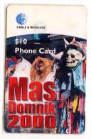 DOMINIQUE REF MV CARDS DOM-C4 Année 1999 Mas Domnik 2000 - Dominica
