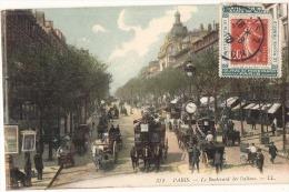 SUPPORT DE TIMBRE  Sur Carte Postale Angle Deéfectueux  RARE - France