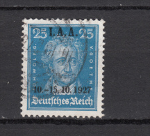 1927  MICHEL  Nº   409 - Alemania