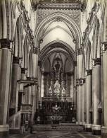 Italie Naples Napoli Eglise Chiesa San Domenico Maggiore Ancienne Photo Albumine Sommer 1880 - Photographs