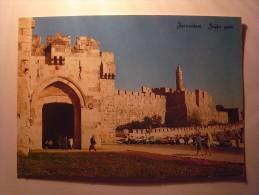 1 Cpa - Jerusalem - Hoffa Gate (2 Scans) - Cartes Postales
