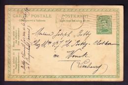 ENTIER POSTAL, TYPE ROI ALBERT 1919, DE ANTWERPEN à WONCK. (6AL96) - Postcards [1909-34]