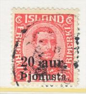 Iceland Official  O 71    (o)  Wmk. 114 - Officials