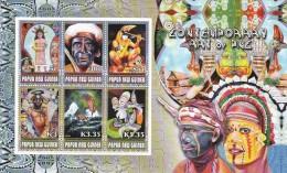 Papua New Guinea 2007 Contemporany Art Sheetlet MNH - Papua New Guinea