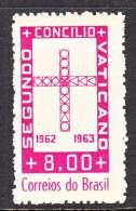 BRAZIL  954    *  VATICAN - Brazil