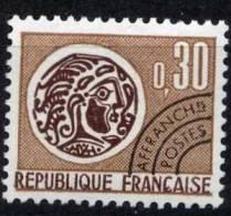 N° 131  Année 1971 Monnaie Gauloise, Valeur Faciale 0,30 F - Precancels
